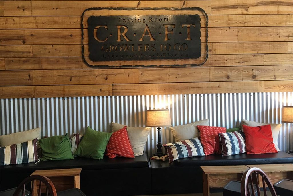CGTG Gallery - Comfortable Tasting Room Couches and Sign - 941-822-8131-web