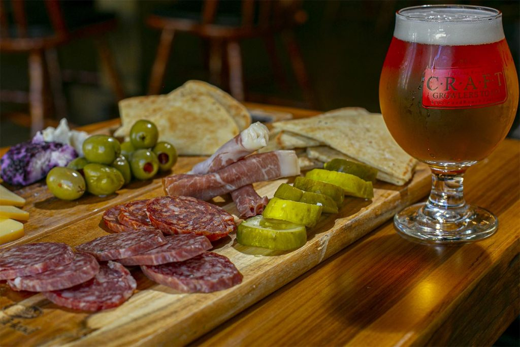 CGTG Gallery - Craft Beer and Charcuterie Board - 941-822-8131-web