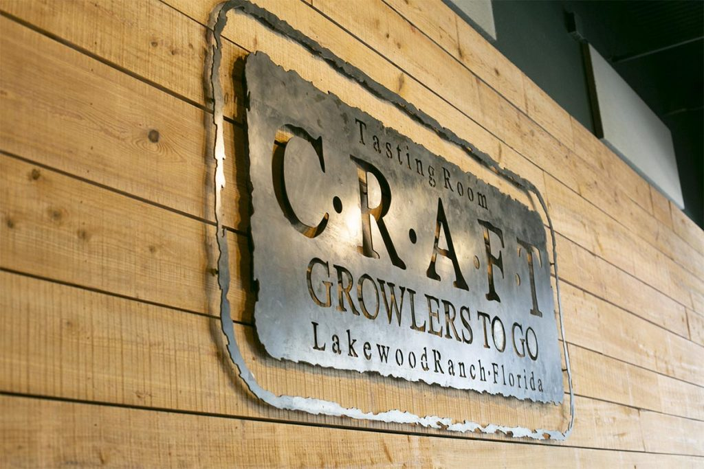CGTG Gallery - Craft Growlers To Go Sign - 941-822-8131-web