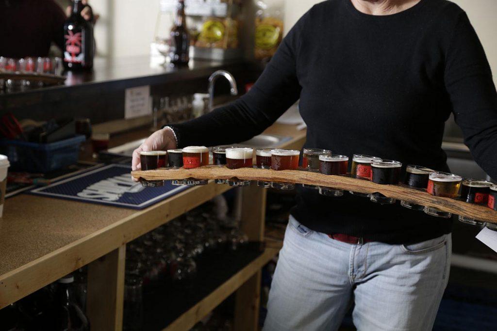CGTG Gallery - Jeanne Serving 15 Beer Taster - 941-822-8131-web